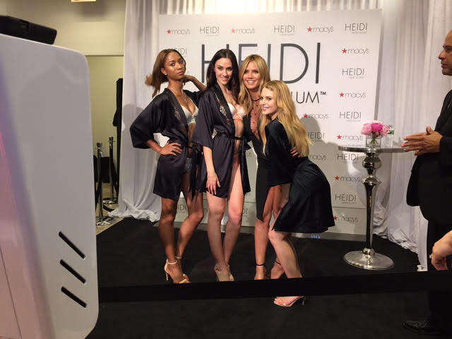 Our Photo Booth for Heidi Klum Intimates at Macy's NYC - Shake and