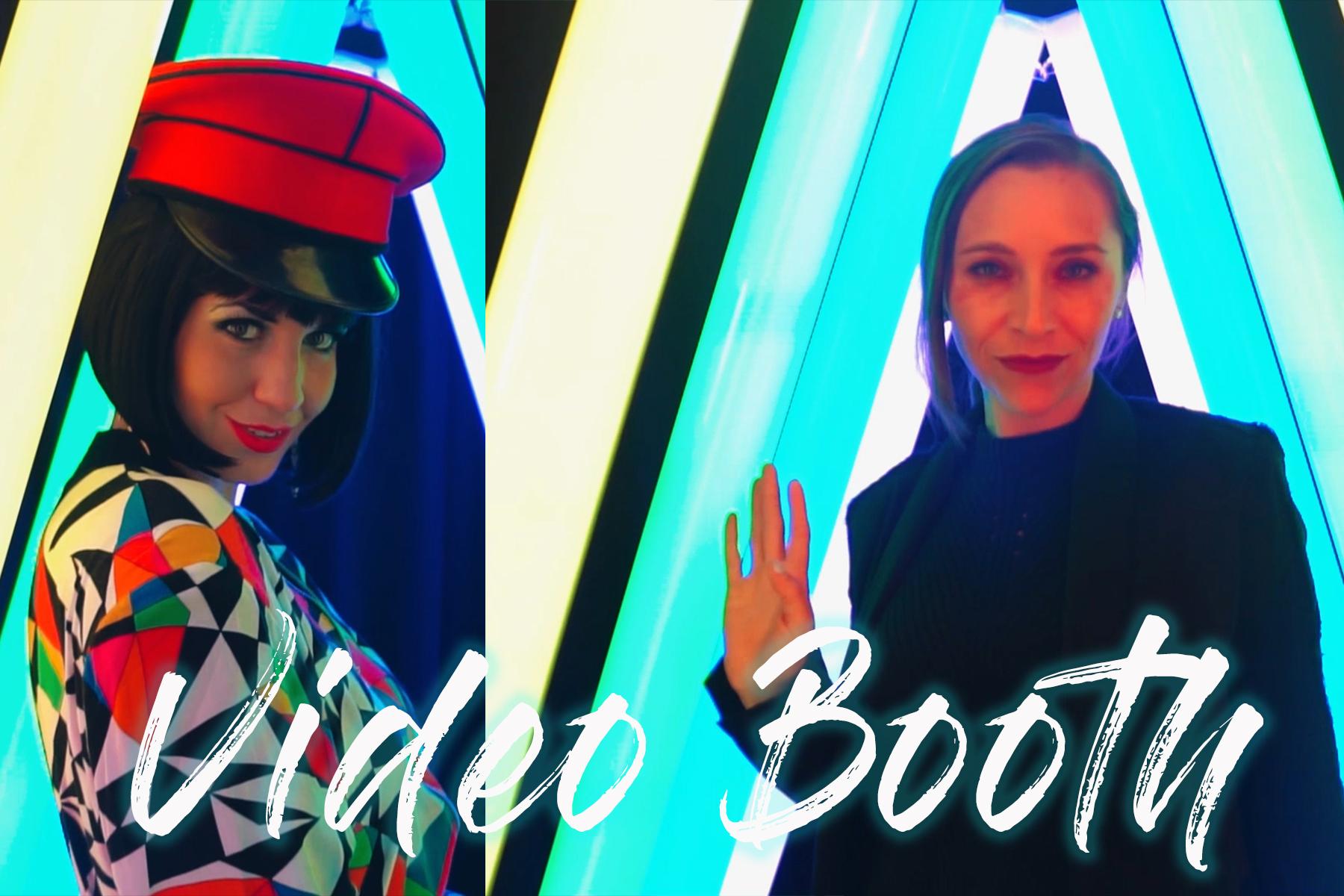 Met Gala Video Booth Style
